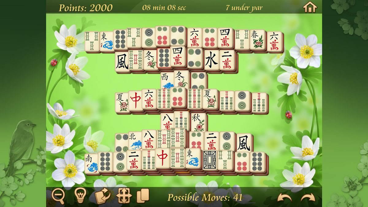 Verschiedene Mahjong Spiele